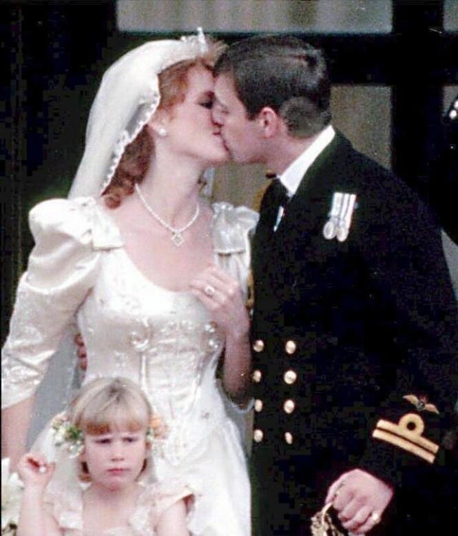 IKKE LYKKELIG I ALLE SINE DAGER: Sarah Ferguson giftet seg med prins Andrew i 1986, og fikk tittelen hertuginne av York. Den bærer hun fortsatt, selv om hun offisielt sett er ute av kongefamilien. Et godt forhold med eksmannen har hun derimot fortsatt. Foto: NTB scanpix
