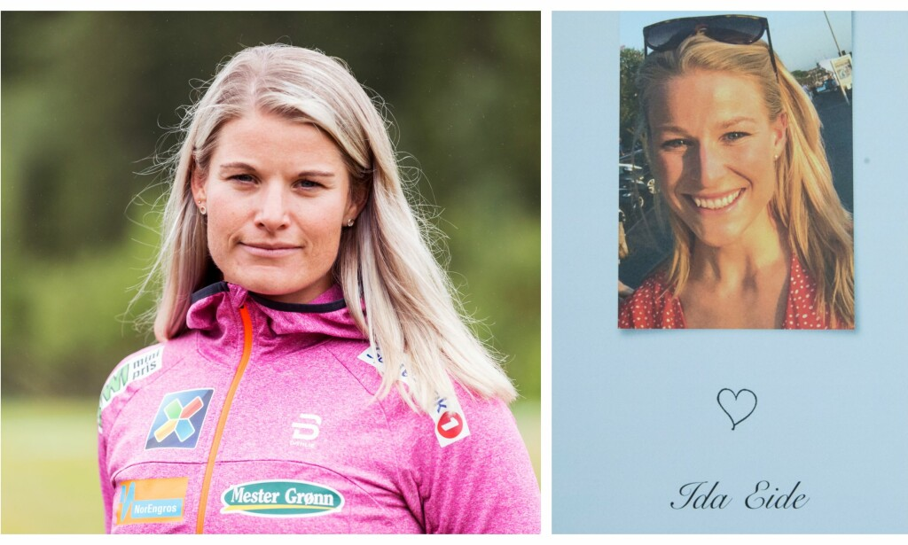 TØFF TID: Langrennsløper Mari Eide mistet i høst storesøsteren Ida (bildet t.h.). Ida Eide ble stedt til hvile i starten av september. Foto: NTB scanpix