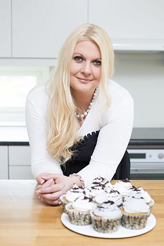 KALD: - Fløten må være helt kald, sier Kristine Ilstad fra bloggen Det Søte Liv. Foto: Christina Børding