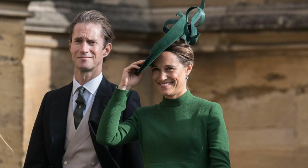 RØRENDE HYLLEST: Navnet på sønnen til Pippa Middleton og James Matthews er blitt offentliggjort, og bak navnevalget skal det ligge en tragisk historie. Foto: NTB scanpix