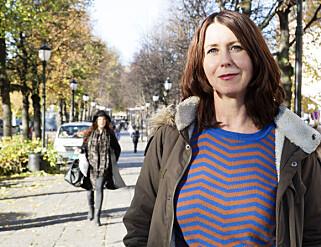 - UNNSKYLD: Forfatterforeningen og leder Heidi Marie Kriznik kommer med oppreisning til 17 norske forfattere som ble straffet etter andre verdenskrig Foto: Cornelius Poppe, NTB Scanpix.