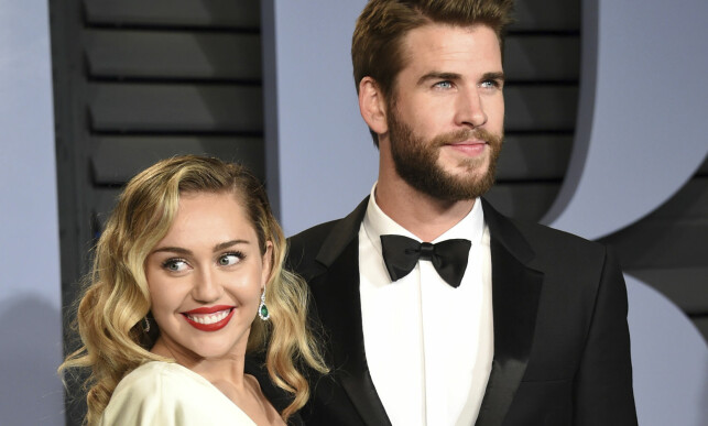 MONEY Cross: Miley Cyrus and actress Liam Hemsworth are among the stars that are affected by forest fires. Photo: NTB Scanpix