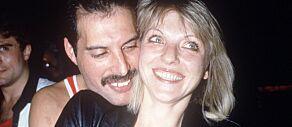 image: Hun er den sagnomsuste kvinnen som stjal Freddie Mercurys hjerte. I dag har hun gått under jorda