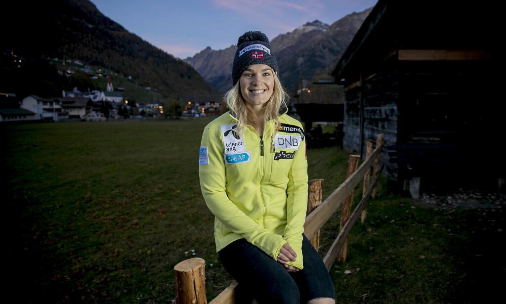 LIKESTILT: Nina Haver-Løseth tjener mer enn mannen som er rangert like høyt som henne i alpint. Økonomisk har alpinistene samme forutsetninger i dag. Foto: Bjørn Langsem / Dagbladet.