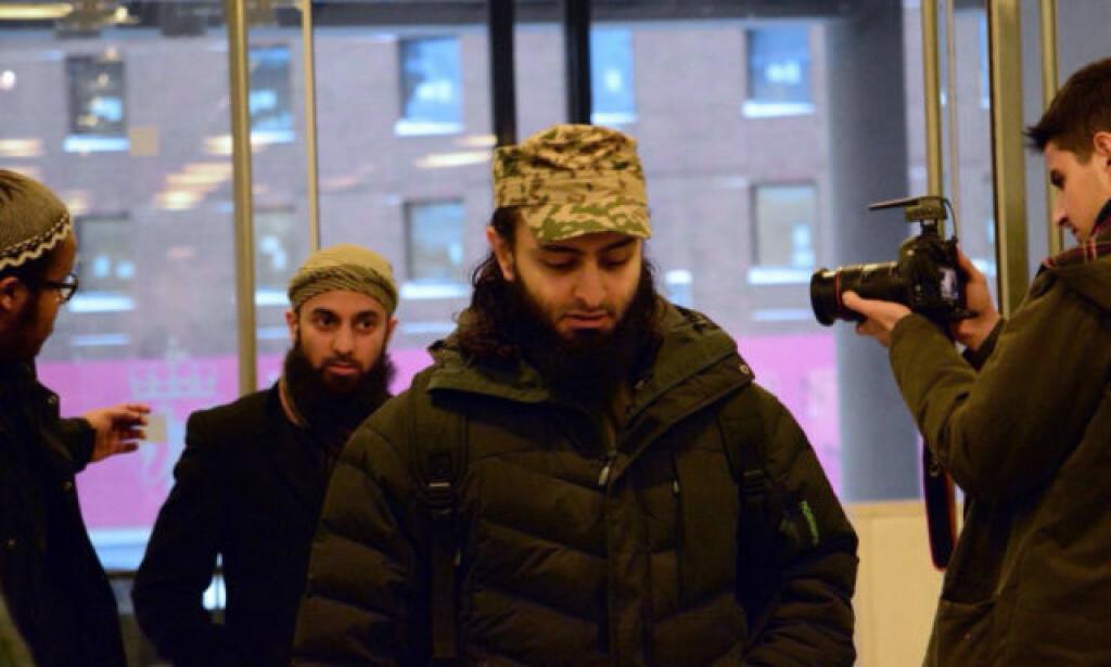 - HAR ALDRI TRUET: Mohyeldeen Mohammad (bakerst) anker trusseldommen fra Oslo tingrett. Arkivfoto: Ralf Lofstad/Dagbladet.