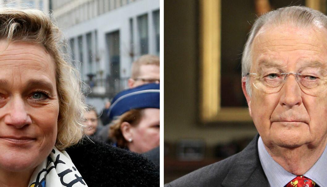 Hevder tidligere belgisk konge er faren hennes