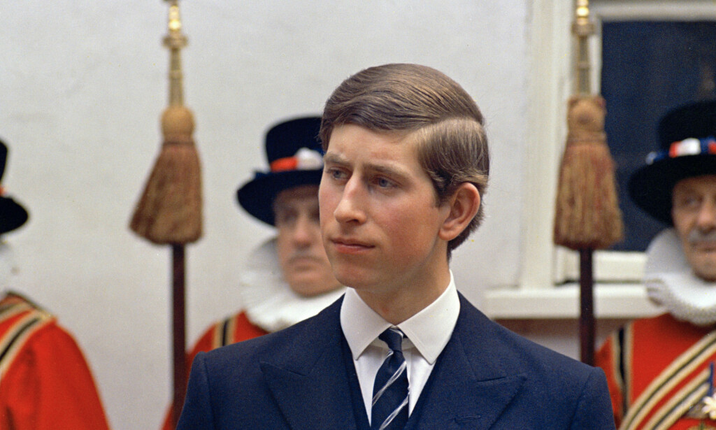 Yang and Oscars: Prince Charles is depicted in March 1968, aged 19. Photo: NTB Scanpix