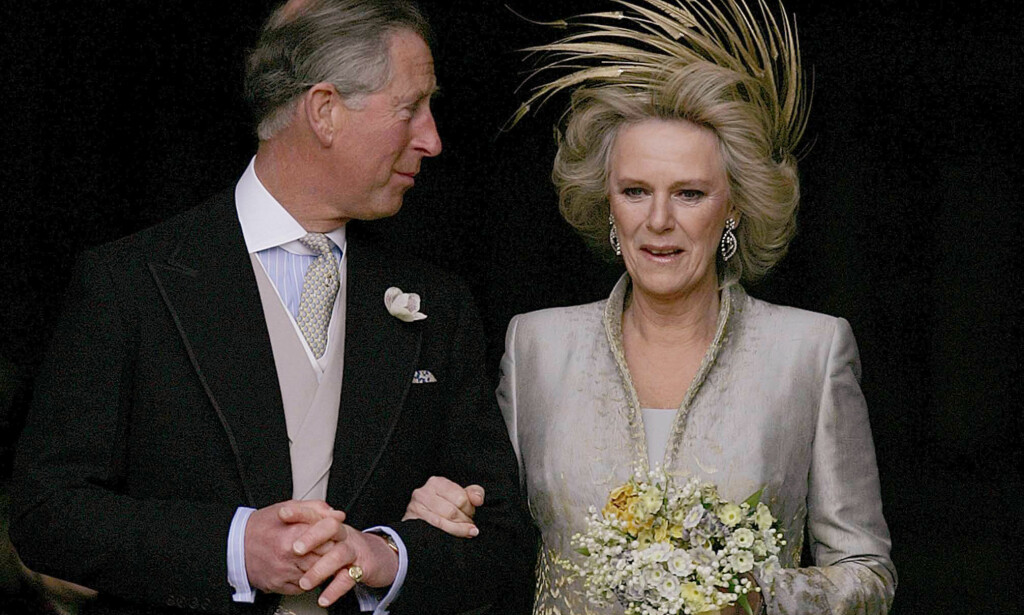 Camilla camera: Prince Charles and Camilla got married in April 2005. Photo: NTB Scanpix