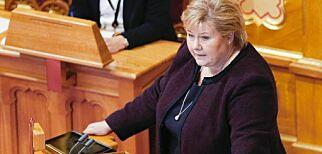 image: Solberg bekrefter. Åpen for å endre abortloven på to punkter