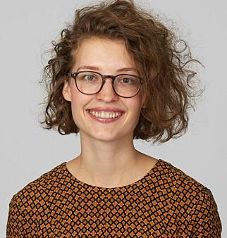 Johanna Håøy Horn i Bekk påpeker at alle bruker tab-tasten. 📸: Bekk
