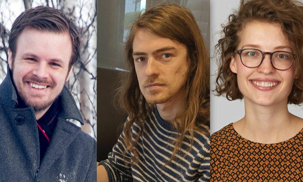 Eirik Talberg i Netcompany, Lars Tønder i Webstep og Johanne Håøy Horn i Bekk mener alle at spaces er riktig valg.📸: Eirik Talberg / Lars Tønder / Bekk