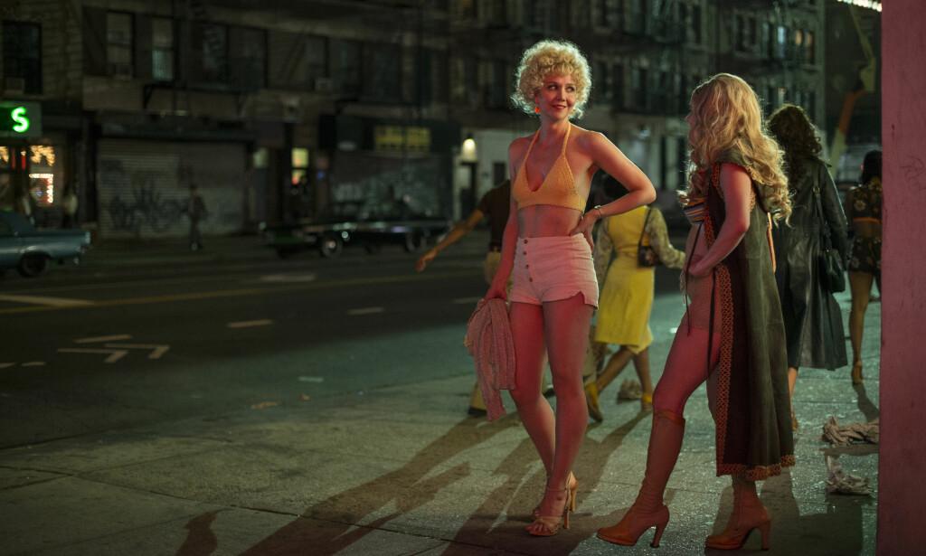 SEXKJØP OG PORNO: «The Deuce» handler om den gryende pornoindustrien i New York på 1970-tallet. Nå tar HBO tak i problematikken rundt inspillinger av sexscener. Foto: HBO