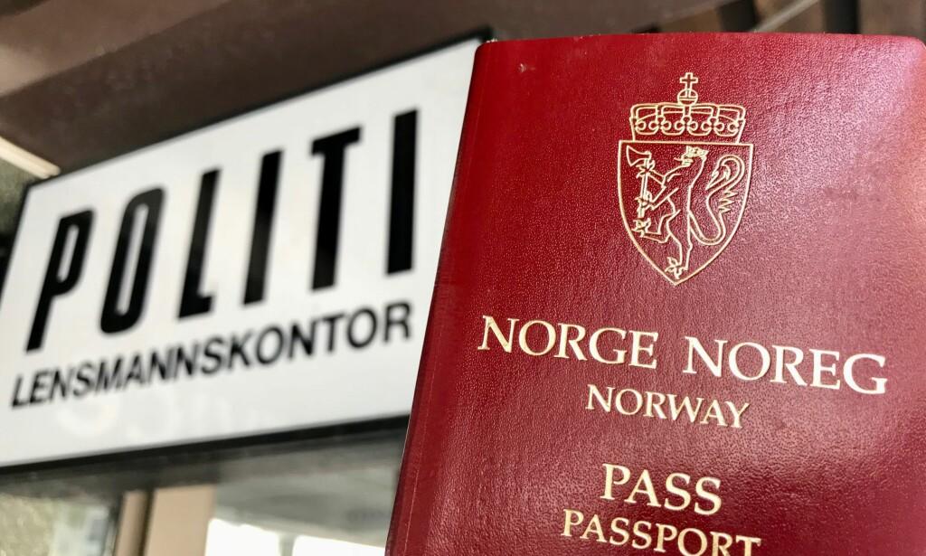 Unngå kø: Dersom du bestiller time for nytt pass i vintermånedene så er det store sjanser for å unngå køer. Foto: Odd Roar Lange