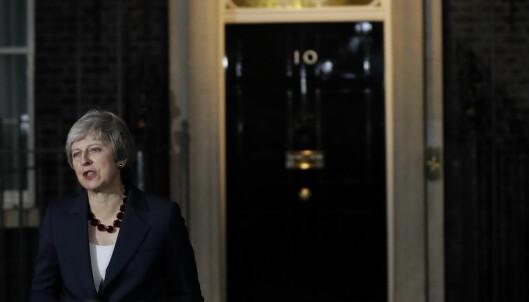 Den britiske regjeringen støtter forslag til Brexit-avtale