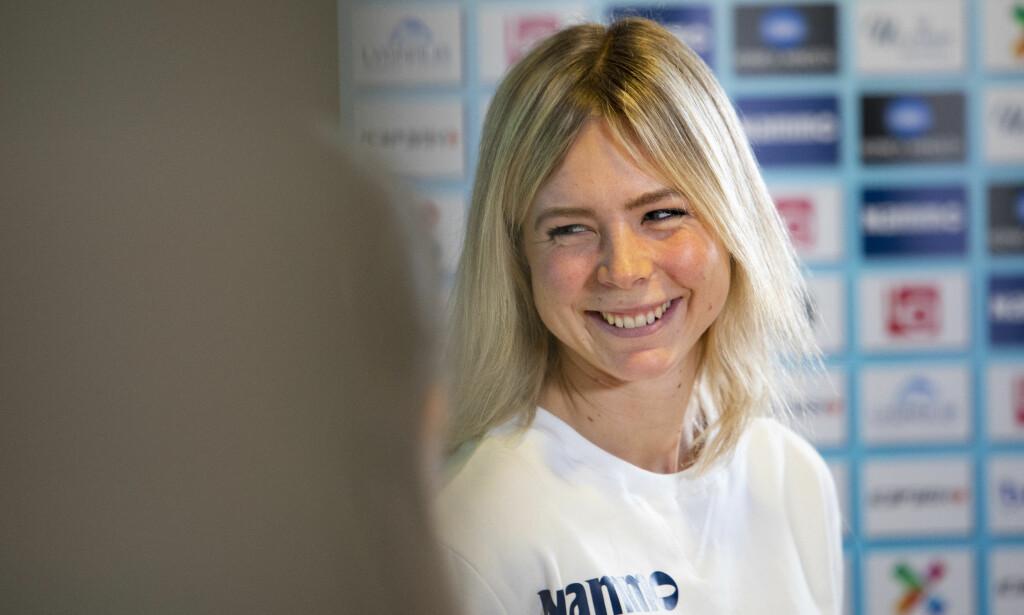 STJERNE: Maren Lundby er verdens ubestridte hoppdronning. Nå har hun gjort grep for å følge opp suksessen kommende sesong. Foto: Tore Meek / NTB scanpix