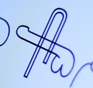 Penis med binders gjennom er nok det rareste av de tre penis-symbolene. 📸: Ole Petter Baugerød Stokke