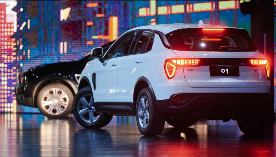 <strong>I SALG:</strong> I Kina er Lynk&amp;Co 1 allerede i salg med vanlige forbrenningsmotorer. Den elektriske utgaven for Europa skal trolig bygges i Belgia. Foto: Lynk&amp;Co