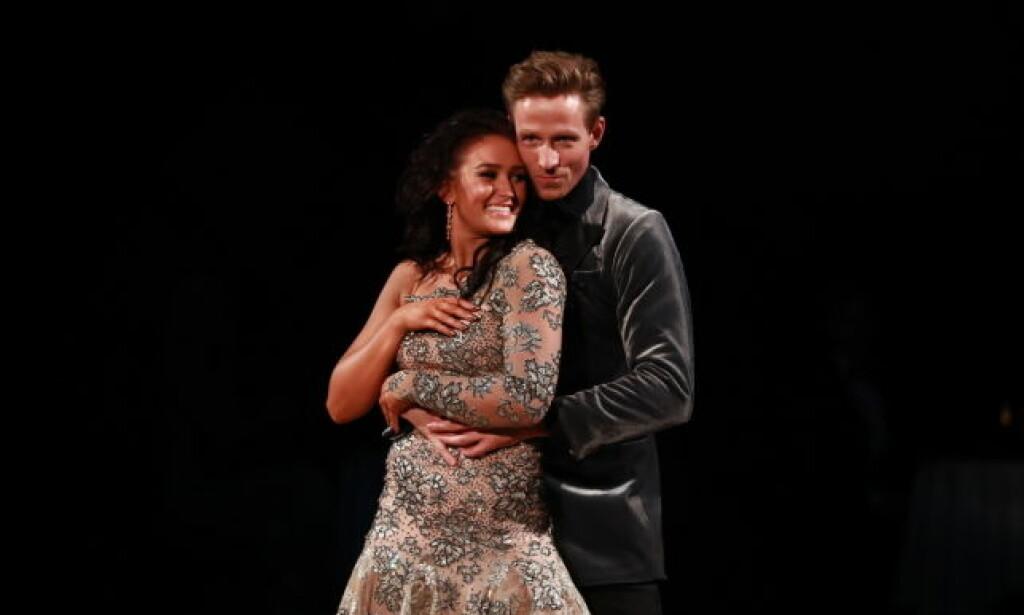 SPEKULASJONER: I lengre tid har det blitt spekulert om det er en romanse mellom Rikke og Jan Gunnar. Nå svarer de. Foto: Thomas Reisæter / TV 2