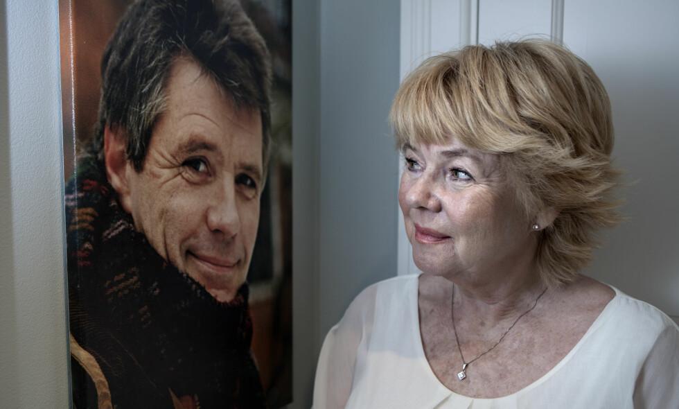 ALVORLIG SYK: - Jeg møtte Eirik i 1975. Han var så pen, fikk blikk av både menn og kvinner, forteller skuespiller Kari-Ann Grønsund. Foto: Anders Grønneberg