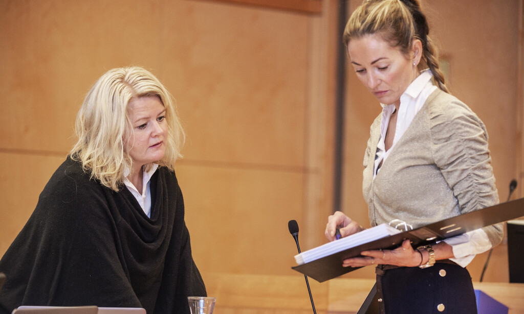 PARTER: Aktor Iris Storås og Jemtlands forsvarer Ida Andenæs. Foto: Hans Arne Vedlog / Dagbladet