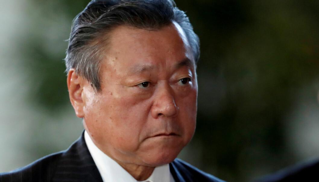 <strong>DATASJOKK:</strong> Under en spørretime i Japans nasjonalforsamling onsdag, kom cybersikkerhetminister Yoshitaka Sakurada med en sjokkerende avsløring. FOTO: Issei Kato / Reuters / NTB Scanpix