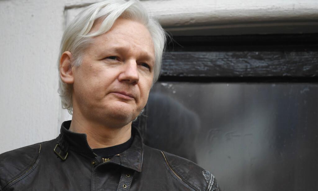 SIKTET: Julian Assange er siktet av amerikanske myndigheter. FOTO: NTB Scanpix
