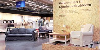 image: Ikea åpner bruktbutikk