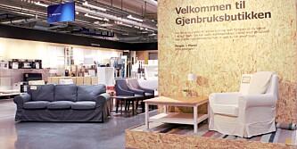 Ikea åpner bruktbutikk