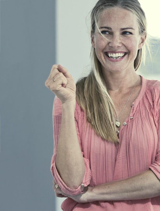 VIKTIGHETEN AV ÅPENHET: – Vi trenger mer åpenhet, og vi trenger å bry oss mer, sier Venke Knutson. FOTO: Astrid Waller