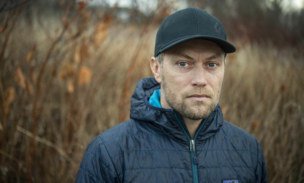 VITNE: Terje Opheim vitnet i dag i rettssaken mot Svein Jemtland. Der kom det fram at han besøkte Svein Jemtland i fengsel i sommer. Foto: Hans Arne Vedlog / Dagbladet