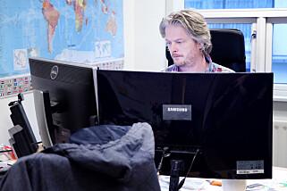 Daglig leder Jørgen Tharaldsen i Megapop. 📸: Ole Petter Baugerød Stokke