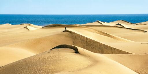 image: Slik skal de redde sandstrendene på Gran Canaria