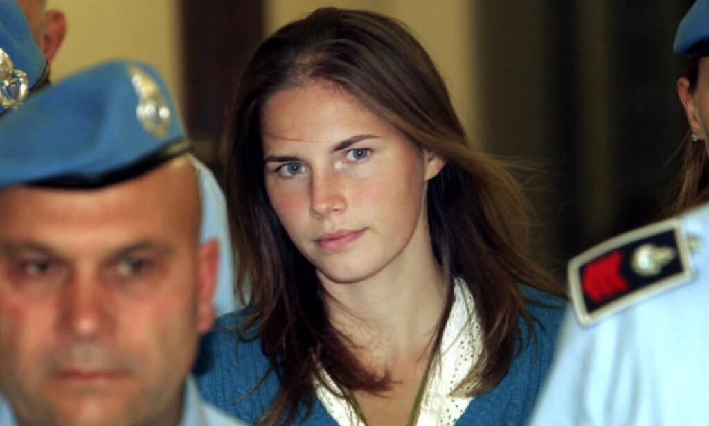 DØMT: Amanda Knox ble dømt for drap i Italia. Hun ble frikjent etter anke i 2011. Her var hun i 2008. Foto: NTB scanpix