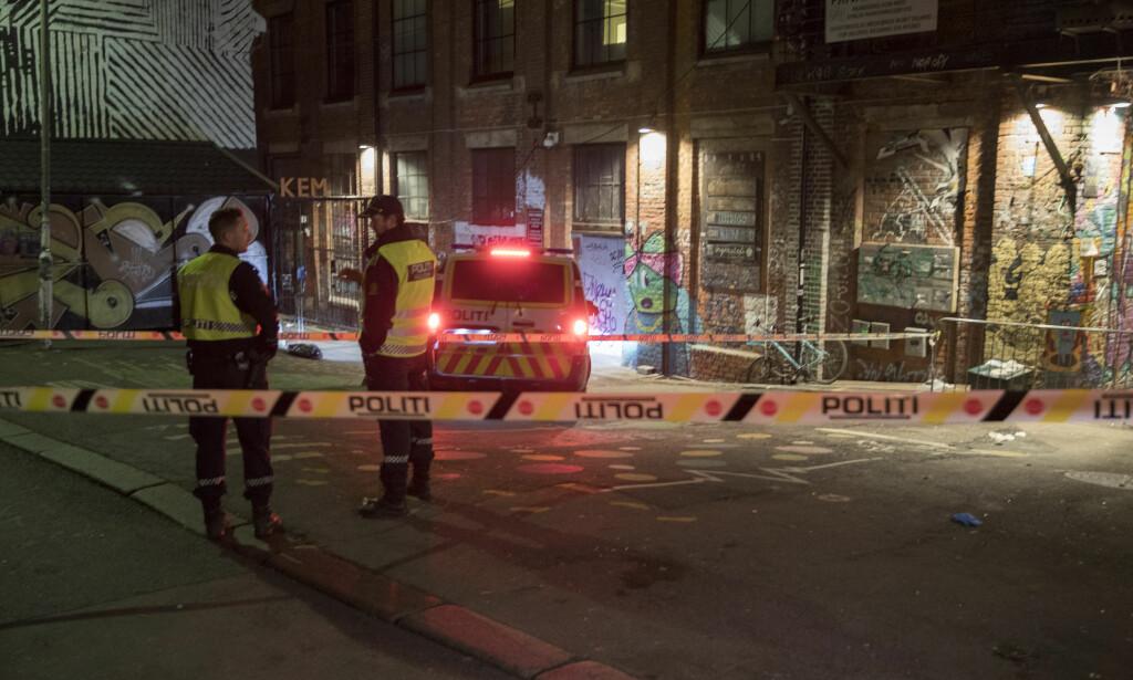 SLAGSMÅL: Politiet fikk melding om slagsmål inne på utestedet Blå i Oslo. Foto: Vidar Ruud / NTB scanpix