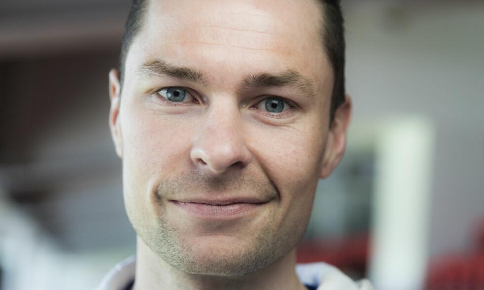 BLE PAPPA: Søndag formiddag avslørte Anders Jacobsen at han er blitt pappa igjen. Foto: NTB scanpix