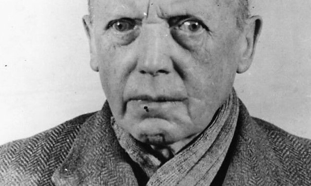 NÜRNBERG: Hans-Heinrich Lammers var først vitne i saken mot de hovedskyldige. Selv ble han dømt til 20 års fengsel for forbrytelser mot menneskeheten, men benådet og satt fri allerede i 1951. Foto: Bundesarchiv
