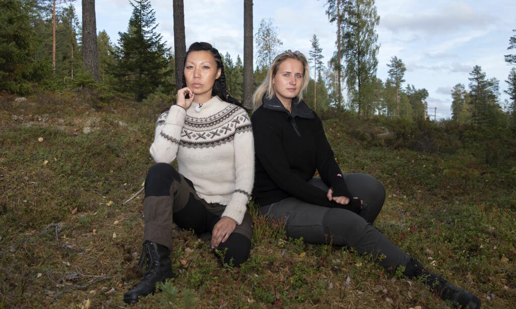 BLE UVENNER: Irene og Karianne sa ikke hadet til hverandre etter tvekampen. Duoen har skværet opp i etterkant. Foto: Kristin Skaalerud / TV 2