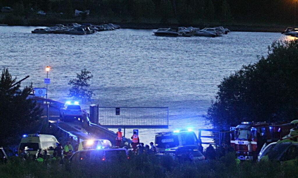 image: NRK varslet ikke om 22. juli-innspilling med våpen, helikopter og blålys