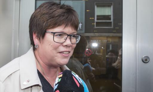 VIL HA ALT PÅ BORDET: Karin Bjørkhaug krever ekstraordinært landsstyremøter. Foto: Vidar Ruud / NTB scanpix