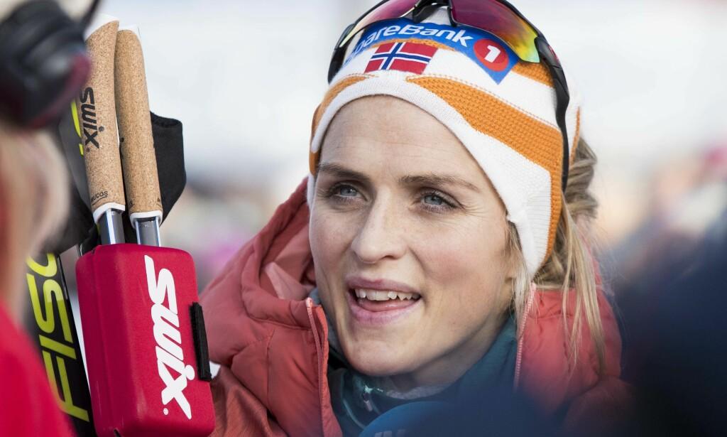 I FORM: Therese Johaug er selvfølgelig med når verdenscupsesongen settes i gang til helga. Foto: Terje Pedersen / NTB scanpix