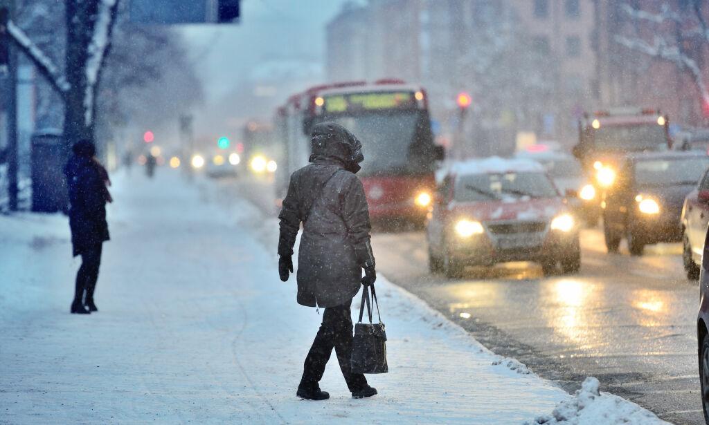 image: - Januar og februar kan bli mye kaldere enn normalt