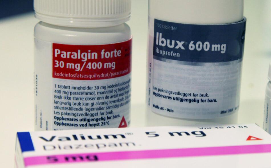 BIVIRKNINGER: En liten prosentandel av brukerne vil få psykiske bivirkninger av reseptmedisinene sine. Illustrasjonsfoto: Lisa M. Wisløff