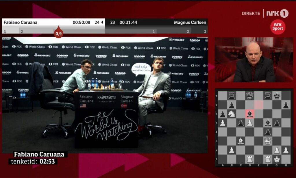 image: Carlsen reagerte på lyder: - Uakseptabelt