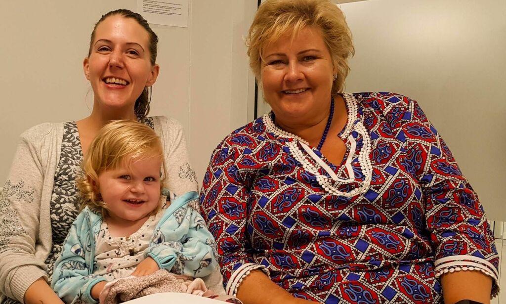 image: - Det virker som Erna bryr seg mer om de syke som ikke er født, enn de barna som lever og lider i dag