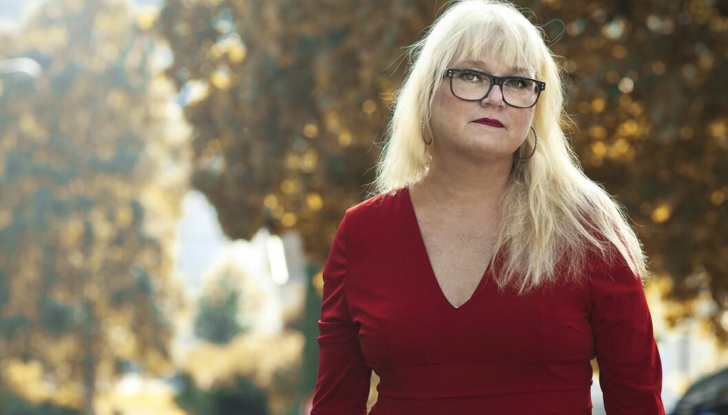 ELIN STOPPET KNIVSTIKKING: – Jeg er så takknemlig for at jenta lever og kommer til å bli helt frisk, sier Elin Skorød til KK. FOTO: Astrid Waller