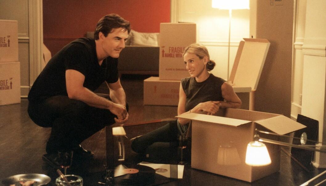 EVIG KJÆRLIGHET: Carrie og Mr. Bigs forhold gikk opp og ned, men til slutt ble det de to. Her er Mr. Big - hvis hele og fulle navn er James Preston - på flyttefot til Napa i California fra New York. Bildet er hentet fra serien. FOTO: HBO