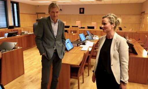 RETTSMEDISINERE: Per Hoff-Olsen og Silje Osberg. Foto: Trym Mogen / Dagbladet