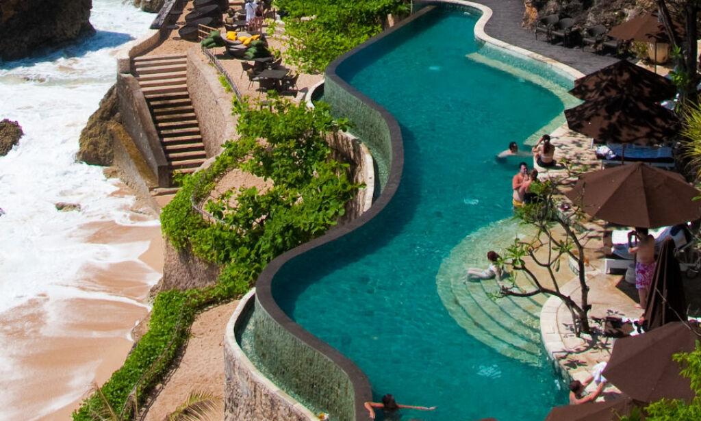 image: Dette luksushotellet forbyr mobiler og sosiale medier ved svømmebassenget