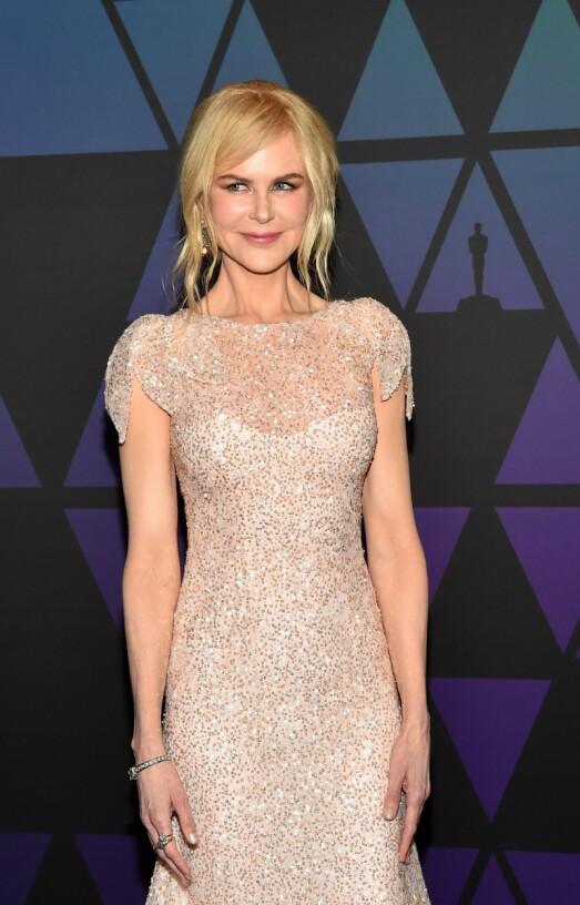 STIV I MASKA?: Flere spekulerer nå på om Nicole Kidman har gjort noe med utseendet sitt. Foto: NTB scanpix