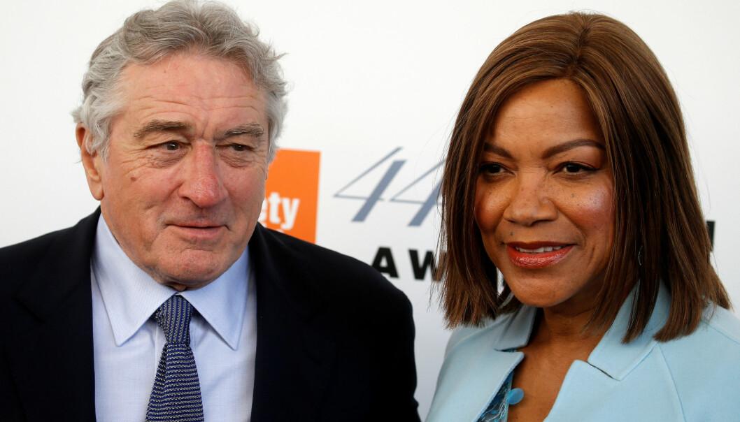 SKILLES: Ifølge utenlandske medier har Robert De Niro og skuespillerkona Grace Hightowe flyttet fra hverandre og har søkt om skilsmisse etter 21 år som ektefeller. Foto: NTB Scanpix